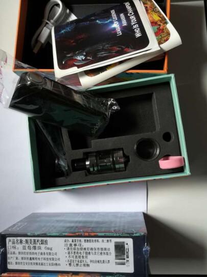 【70W超大烟雾】sickle S40电子烟 送烟油 大功率 套装 正品水烟蒸汽烟戒烟产品 黑色 晒单图