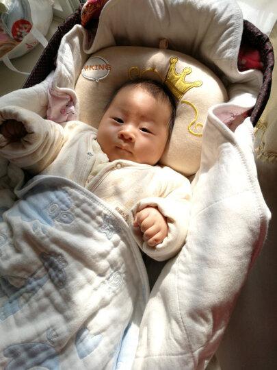 双漫婴儿枕头定型枕防偏头宝宝新生儿定型枕头纠正偏头 王子款 单枕套(彩棉款) 晒单图