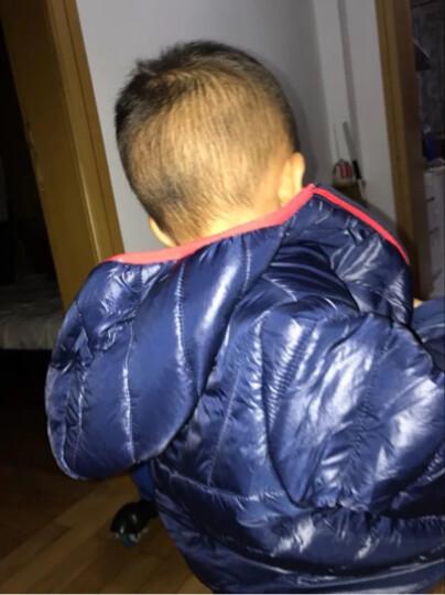 mothercare英国男婴儿宝宝纯色棉服秋冬新款连帽保暖棉服外套 MJ415 100cm(100/52) 晒单图