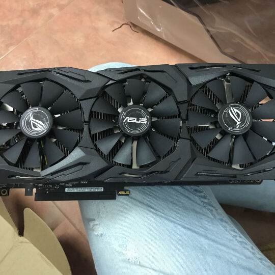 华硕(ASUS)ROG STRIX-GeForce GTX1070TI-A8G-GAMING 1607-1683MHz 8008MHz 猛禽电竞游戏显卡 晒单图