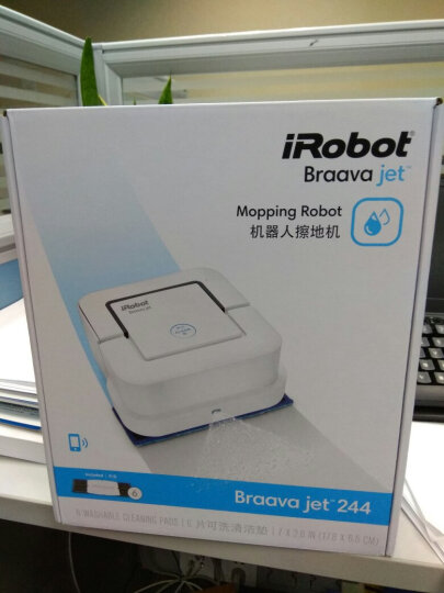 irobot 美国iRobot380/380T Braava家用智能自动拖地机器人擦地扫地 新款iRobot Jet 240 电池 晒单图