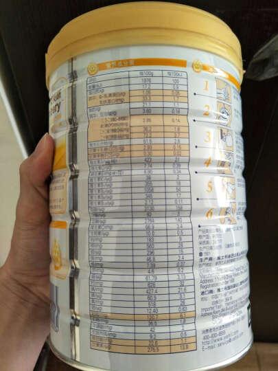 雅士利(Yashily)新西兰原罐进口 安贝慧金装幼儿配方奶粉3段800g (12-36个月幼儿适用) 晒单图