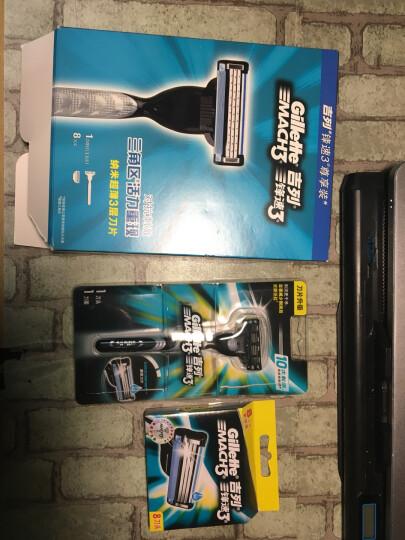 吉列Gillette手动剃须刀刮胡刀优惠装吉利 锋速3突破(1刀架1刀头+70g剃须啫喱) 晒单图