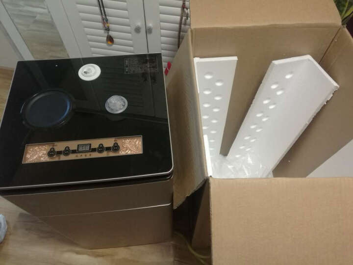 司迈特(SMARTEM)Q5茶吧机家用饮水机立式下置式 温热型 热卖高性价比黑金刚 晒单图