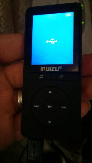 锐族(RUIZU)X20 8G 蓝色 外放支持线控无损音质MP3/MP4 晒单图