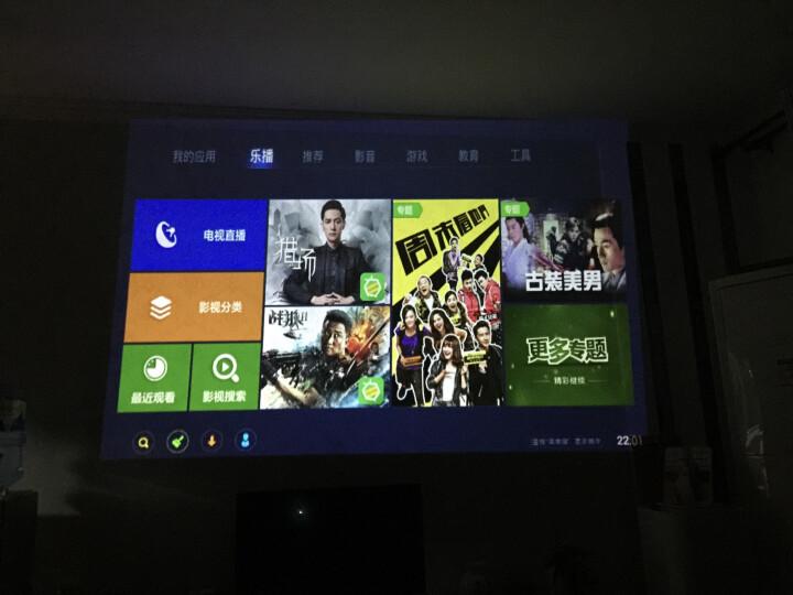 澳典 (AODIN) 微型手机投影仪家用 高清办公 便携迷你wifi投影机 智能3D M6 8G 特惠版 官方标配 晒单图