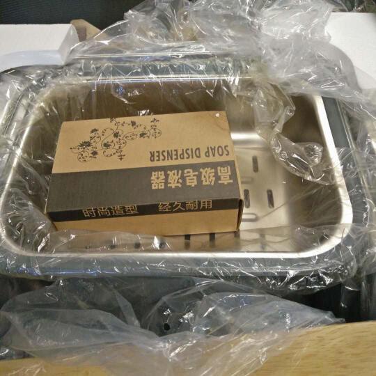 美国艾肯ELKAY 大单槽 加厚304不锈钢水槽单槽 洗菜盆洗碗池一体套餐EC-41410 不锈钢抽拉龙头套餐 730*450*225mm 晒单图
