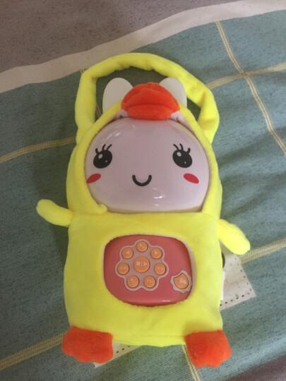 火火兔 G6早教机故事机婴幼儿童宝宝益智玩具 wifi款G63粉色(防摔包+8G) 晒单图