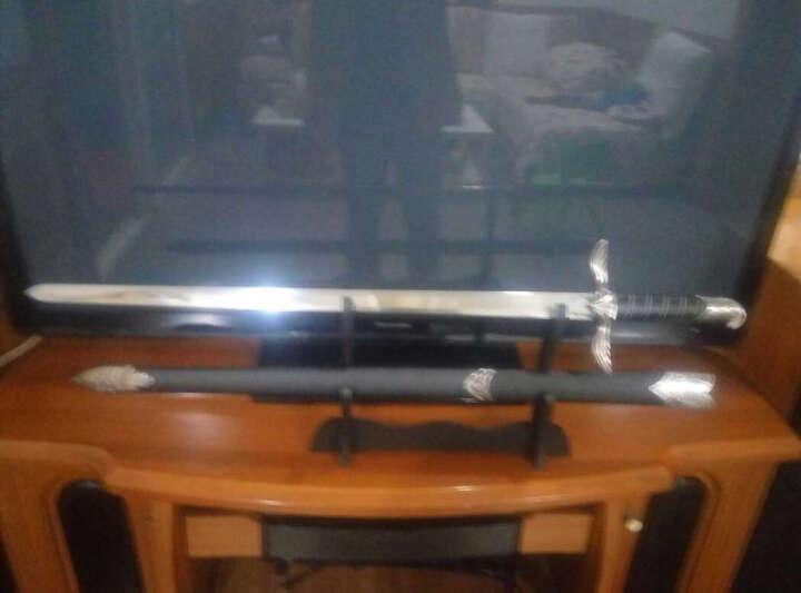 欧式西洋剑 刺客信条阿泰尔之剑 骑士剑 COS游戏道具 刺客剑 送挂板 未开刃 晒单图