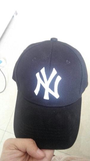 棒球帽子男女士春秋户外休闲情侣款鸭舌帽纯色可调节遮阳帽 酒红 晒单图