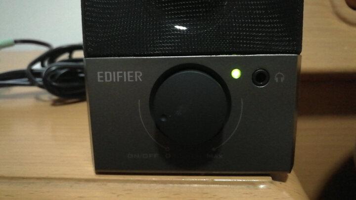 漫步者(EDIFIER) R18T 2.0声道 木质多媒体音箱 黑色 晒单图