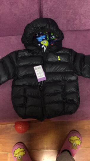 贝乐聪 男童棉衣儿童棉服冬装宝宝加厚外套两面穿外套2017新款小孩衣服1-2--5-6岁 单面穿7225红色 80码建议身高70-80cm 晒单图