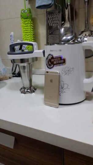 九阳(Joyoung)豆浆机0.9-1.3L预约三合一 家用多功能 304级不锈钢DJ13B-D79SG 晒单图