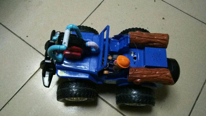 龙祥熊出没遥控车充电儿童玩具光头强越野车电锯子卡通汽车 男孩玩具 蓝色电锯车 新款上市 晒单图