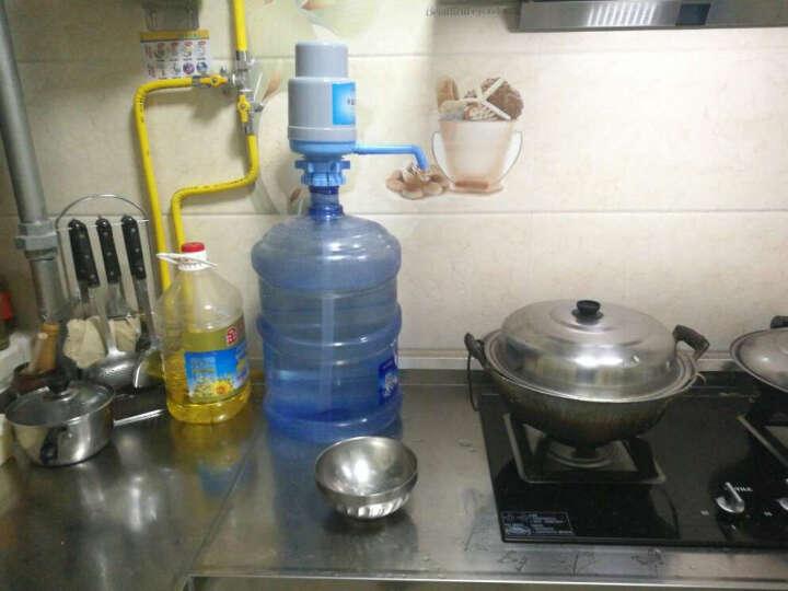 蓝臣(lanchen) 手压式桶装水压水器饮水机 纯净水抽水器 矿泉水吸水抽水泵 灰蓝优质加厚压水器 晒单图