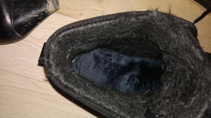 北极绒 男鞋秋冬季平板鞋子男韩版潮流男士休闲鞋男懒人鞋布鞋男 蓝色款 42 晒单图