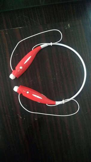 HBS-730蓝牙运动耳机无线蓝牙耳机立体声蓝牙耳机 红色 晒单图