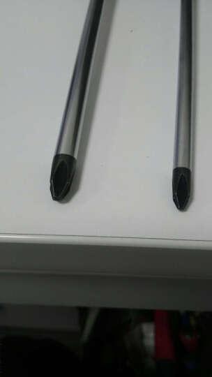 长城精工 螺丝刀  改锥十字螺丝刀 小大号加长起子 优质合金钢  Ф6*150mm 272666 晒单图