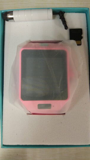 引领美 【送手机卡】儿童电话手表智能手表定位手表学生手机触屏可插卡 尊贵蓝W88D+微聊+定位拍照 晒单图