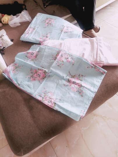 爱莱欧 全棉床罩四件套 纯棉床上用品床裙式韩版床品套件 床罩四件套-爱心天使 1.8米床(适合200*230的被子) 晒单图