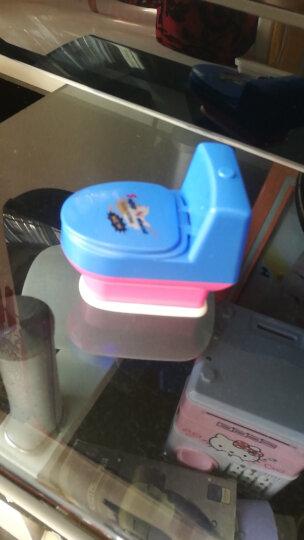仕林轶语   愚人节礼物 搞怪整蛊整人喷水马桶坐便器玩具 彩色 晒单图