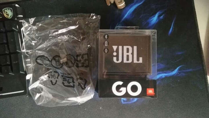 JBL GO音乐金砖 无线蓝牙小音箱 户外便携迷你音响音箱 音频线(赠品非卖品无需拍下 颜色随机发 ) 晒单图