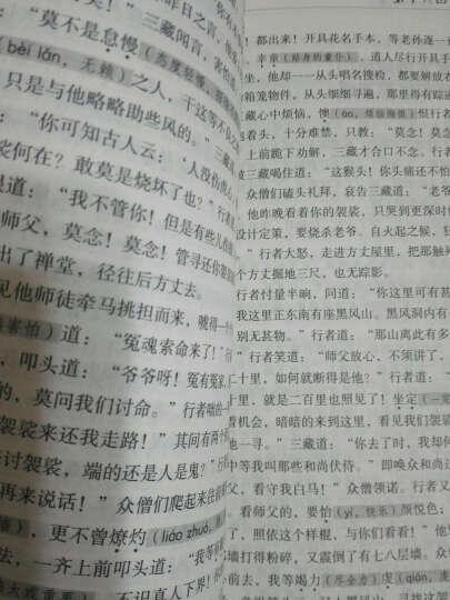 无障碍阅读学生版 西游记 吴承恩原著版文言文 (注释+生僻字注音)全本青少年版 课外 晒单图