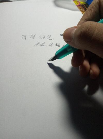 KACO SKY百锋钢笔彩色透明墨水笔德国笔尖男女学生练字钢笔礼盒EF尖F尖 透明蓝 F尖 晒单图