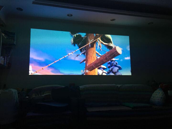 奥图码HD260S 家用投影仪3d 高清1080p 办公 无线安卓智能手机投影机家庭影院 HD260S官方标配+吊架+100英寸普通电动幕布 晒单图