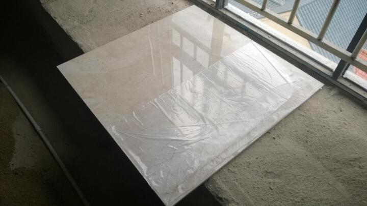 【特】万美 通体大理石瓷砖 客厅地砖餐厅地板砖电视背景墙墙砖 可升级地暖 TP86106 米兰金 800*800mm 晒单图
