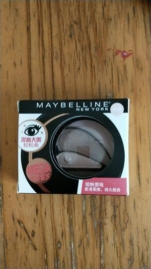 美宝莲(MAYBELLINE)大开电眼眼影盘咖啡3.4g(多色 眼影盘 眼妆 彩妆) 晒单图