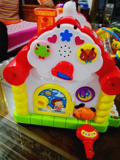 汇乐玩具(HUILE TOYS)益智玩具 趣味小屋 婴幼儿学前玩具积木电子琴 739 (颜色随机) 晒单图