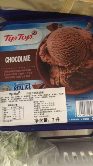 Tip Top  新西兰进口 冰淇淋 2000ml 那不勒斯三色 晒单图