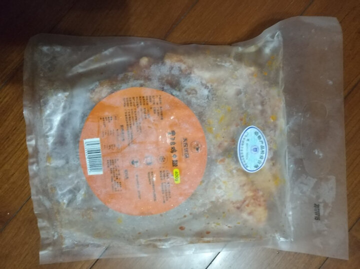 天农 黑椒鸡翅中 400g/袋 供香港 烧烤食材烤翅烤鸡翅 晒单图