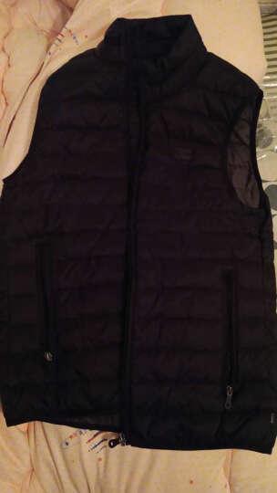 阿玛尼奢侈品男装保暖马甲多色可选8N6Q02 6NHPZ 海军蓝 52 晒单图