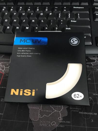耐司(NiSi)MC UV 62mm UV镜 双面多层镀膜无暗角 单反uv镜 保护镜 单反滤镜 滤光镜 佳能尼康相机滤镜 晒单图