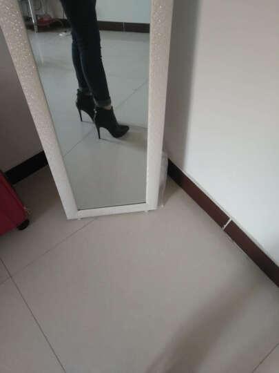 莱卡金盾秋款女鞋子2017新款细跟高跟鞋英伦风尖头短靴女单靴马丁靴潮靴子女 黑色LK6102 38 晒单图