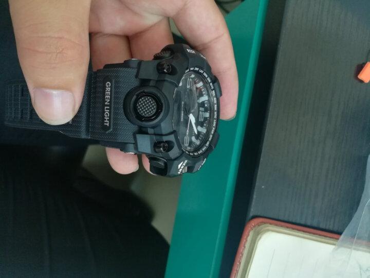 时刻美 skmei 智能手表男士运动表多功能学生跑步蓝牙电子表 1227红色 晒单图