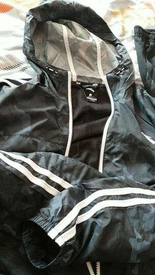 安踏男装2018春季新款连帽梭织夹克风衣时尚运动上衣运动休闲外套男 热力红-1 3XL/190 晒单图