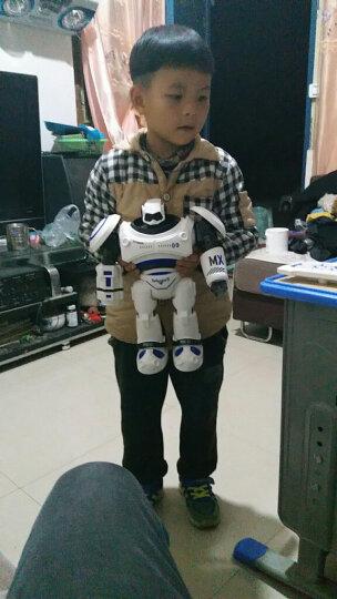 JJR/C 铠甲勇士奥特曼跳舞电动遥控智能红外遥控机器人玩具儿童礼物 机甲战警(橙色) 晒单图