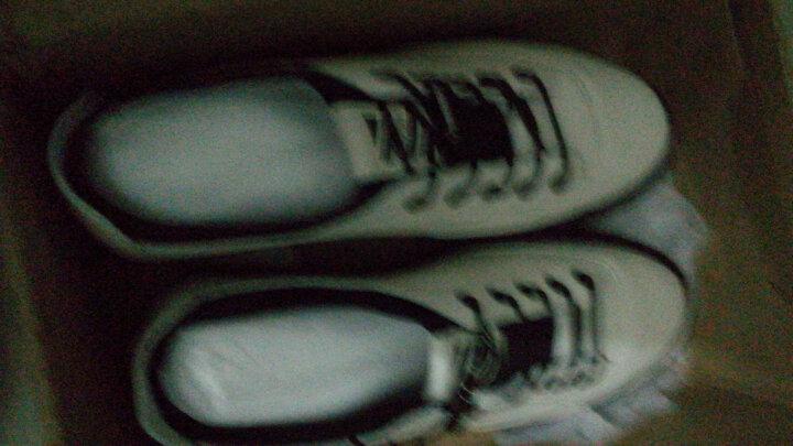L'ALPINA休闲鞋男鞋春季真皮板鞋男士韩版小白鞋男运动休闲鞋子 灰色 41 晒单图