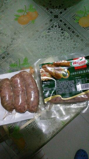 荷美尔 经典德式香肠 冷冻熟食 120g/袋(2件起售) 烧烤食材 晒单图