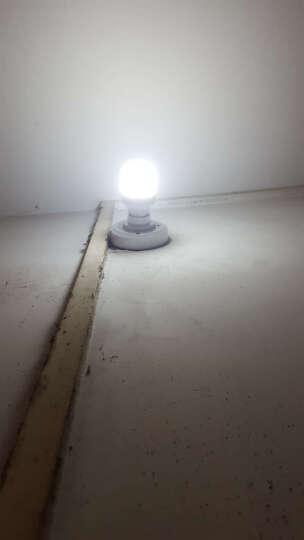 O&P 声控灯座 智能感应声光控灯头座 E27螺口声控灯头 可接LED 晒单图