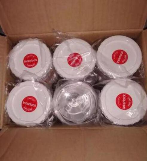 乐扣乐扣(LOCK&LOCK)调料罐五谷杂粮瓶  新概念储物罐 冰箱收纳保鲜 零食密封罐多件 塑料 三件套 晒单图