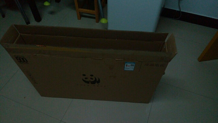 熊猫(PANDA)39F5 39英寸熊猫夏普技术屏 高清数字超窄边框液晶平板电视机(黑色) 晒单图