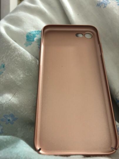 图拉斯 苹果8/7手机壳iPhone7 Plus保护壳全包防摔磨砂硬外壳手机套女薄男透明 4.7英寸-香槟金 晒单图