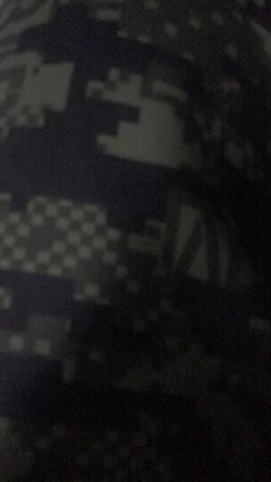 李宁官网男子卫裤BAD FIVE篮球系列收口抓绒运动裤AKLM801 男装 泥绿色迷彩 XL 晒单图