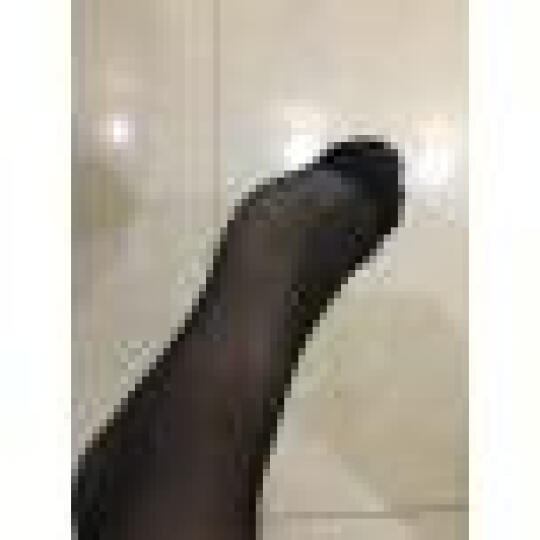 浪莎短丝袜子 对对袜水晶丝短袜薄款女士短丝袜20双 黑灰各10双 均码 晒单图
