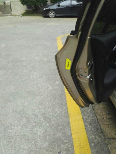 3M 强反光荧光黄绿色反光贴 汽车车门开门安全警示贴 4片装 晒单图