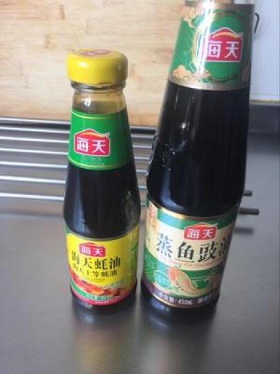 蚝油蒸鱼豉油450ml+海天上等海天260g:那个请问江苏皇容燕麦片1.06克么价图片
